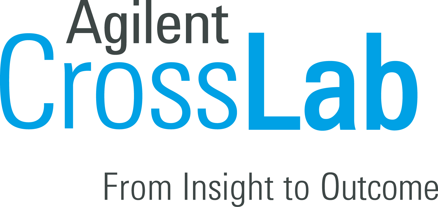 Agilent cross lab wordmark